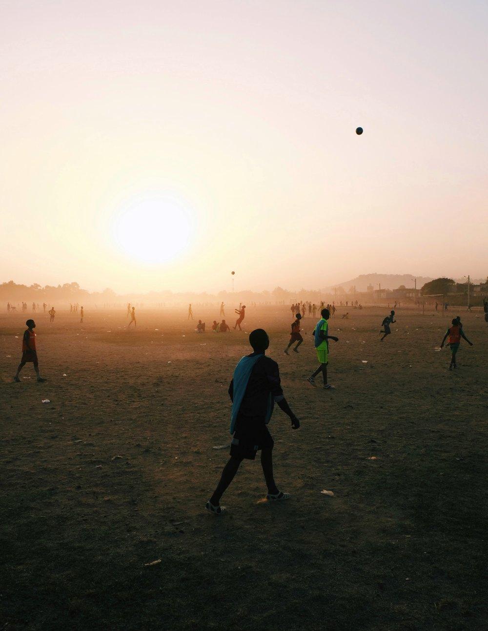 Soccer at Hippodrome Bamako by Joost Bastmeijer in Mali.jpeg