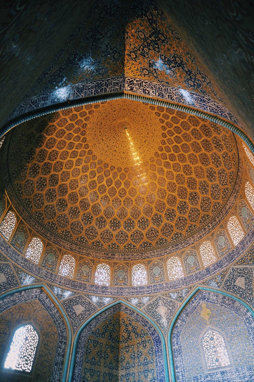 Lutfallah Mosque in Esfahan in Iran by Joost Bastmeijer.jpeg