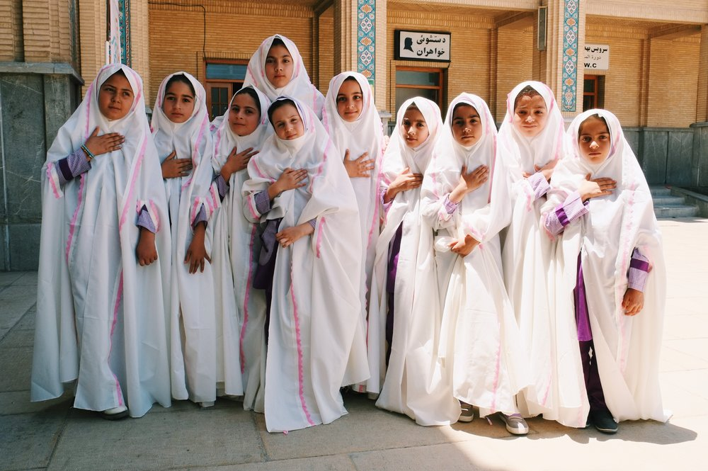 Pious girls in Iran by Joost Bastmeijer.jpeg