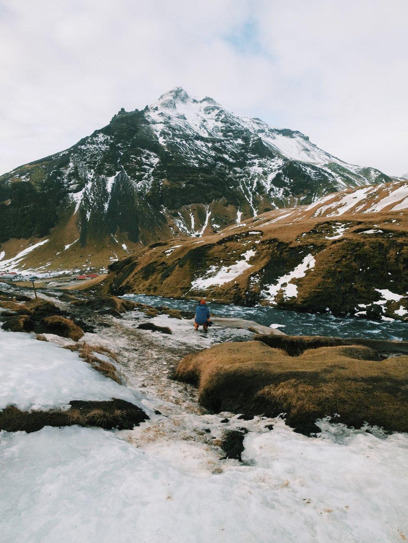 Skogafoss Falls in Iceland by Joost Bastmeijer.jpeg