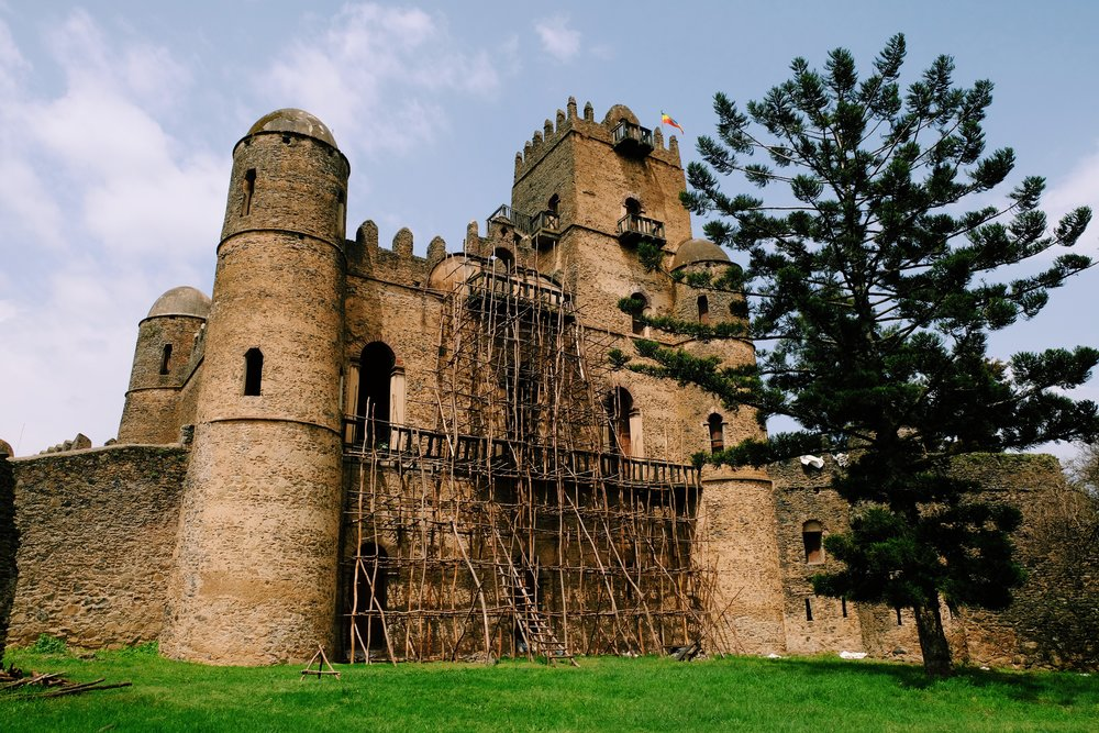 Gondar Castle in Ethiopia by Joost Bastmeijer.jpeg