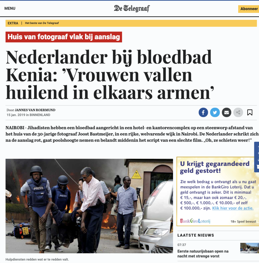 De Telegraaf terrorist attack Nairobi .png