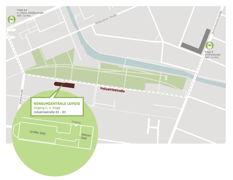 Konsumzentrale, Industriestraße 85-95