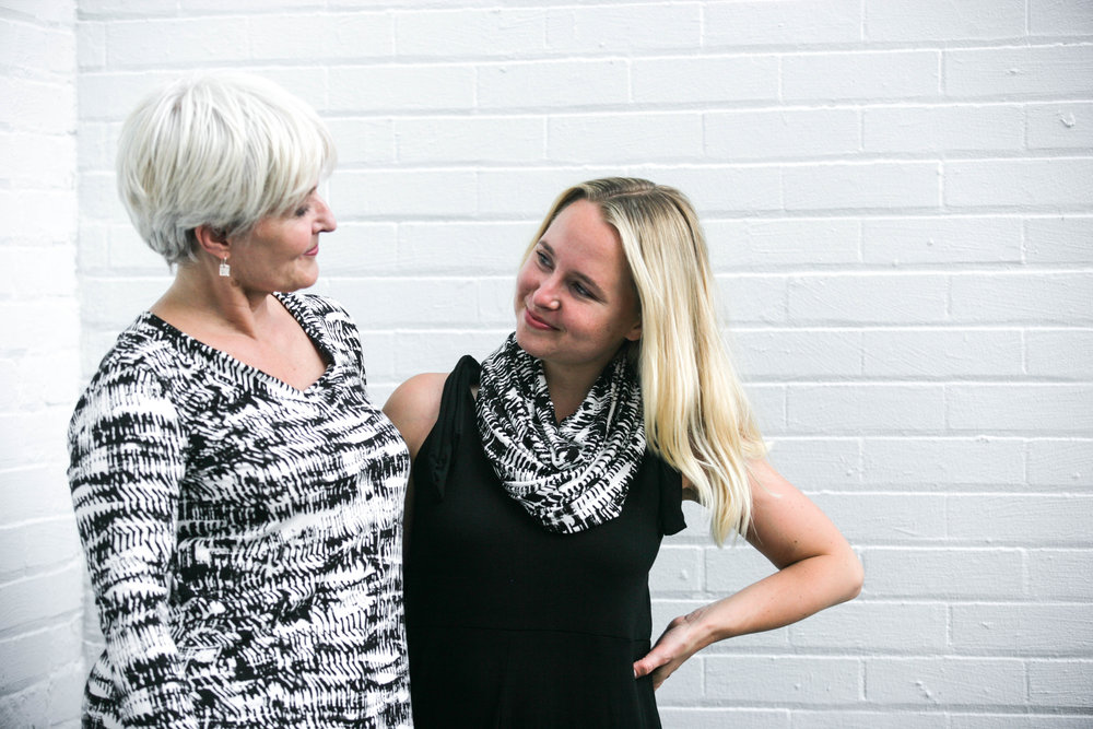 Carol Davies and Morgan McDonald are the mother-daughter team behind Metta Made in Hamilton