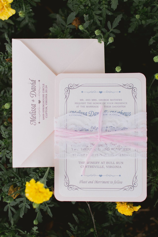 Wedding Invitations —
