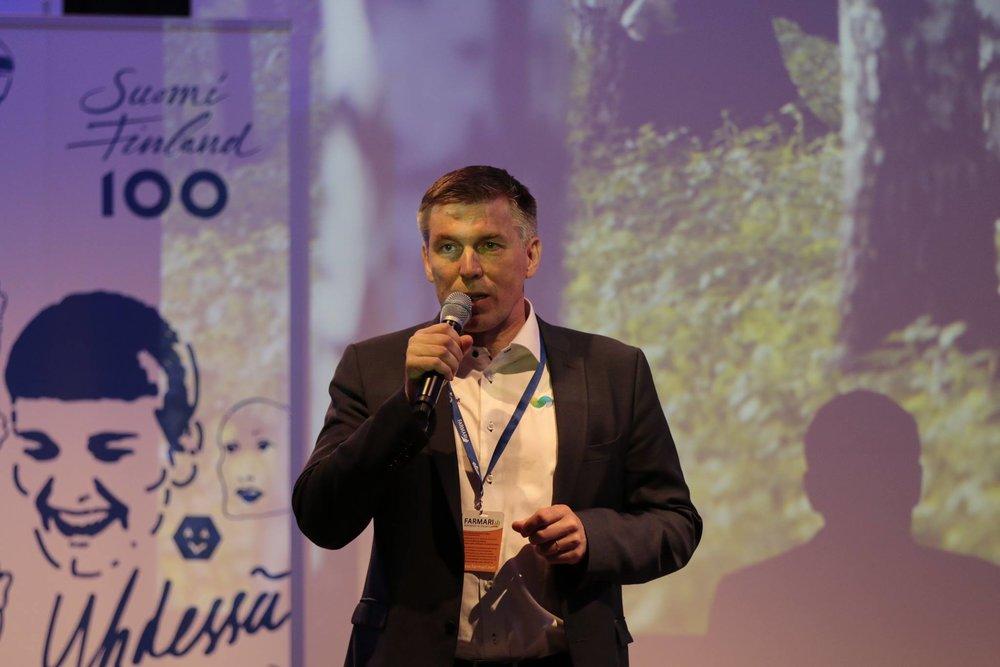 MTK:n puheenjohtaja Juha Marttila näkee maaseudun tulevaisuudessa kasvua