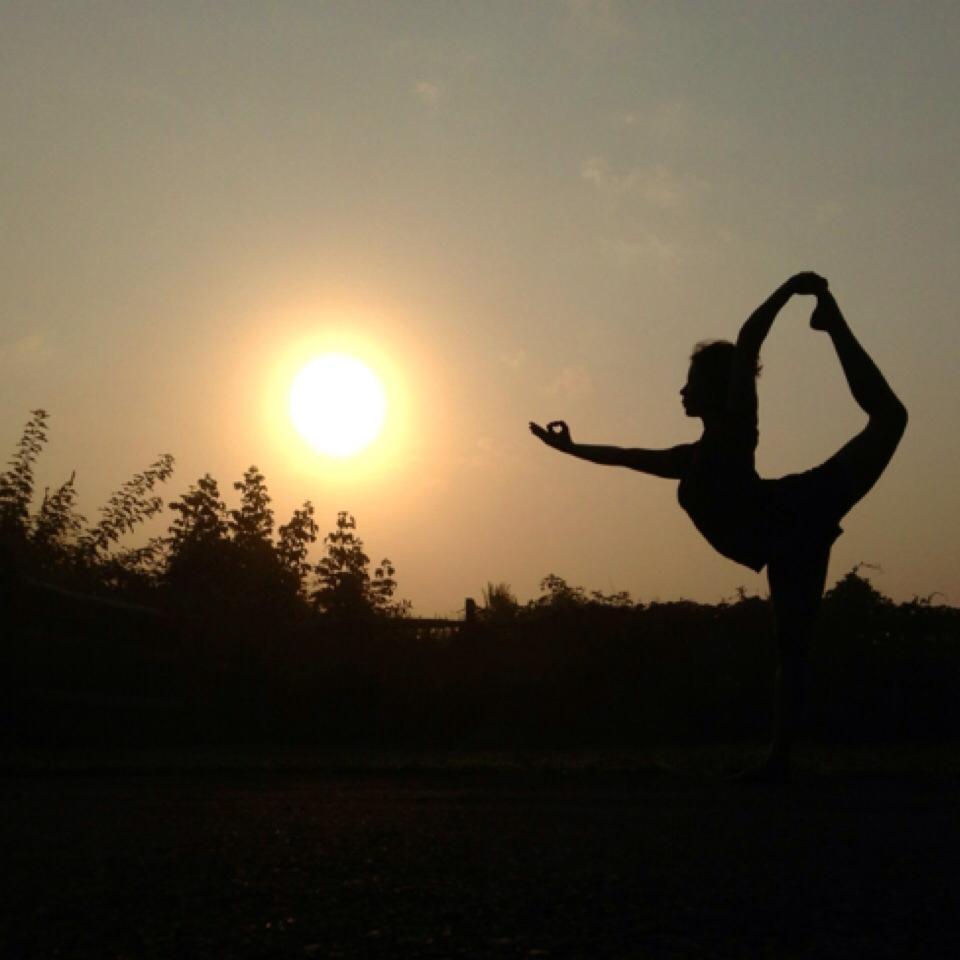 Yoga Pose In Transyvania