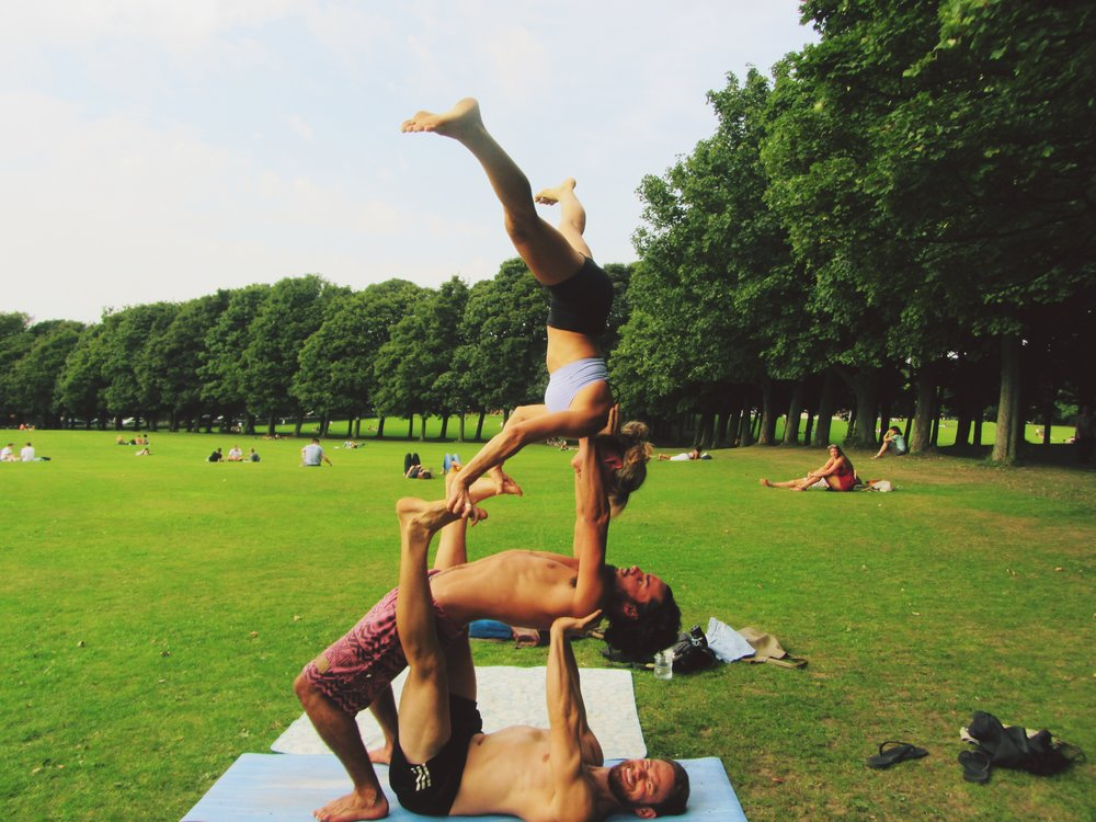 Summer Acro Jam in Leeds (UK)