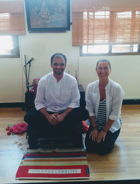 Practicing with Sharath Jois is an amazing experience both spiritually and physically.