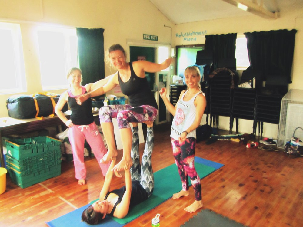 AcroYoga workshop Skipton (UK)