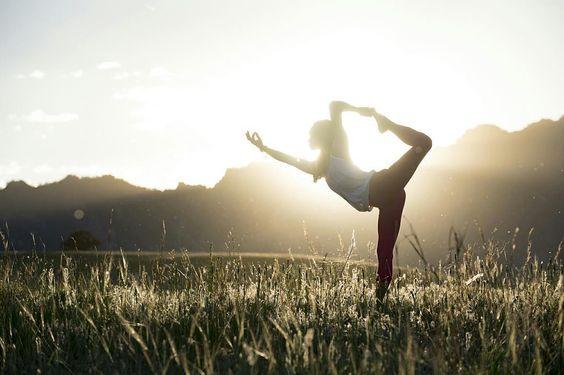 Yoga Pose In Nature