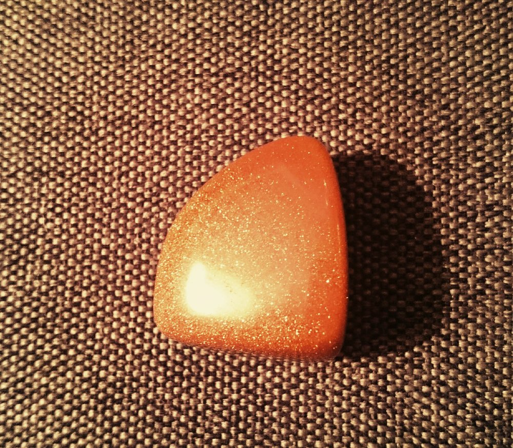 Red Goldstone   (Root Chakra)