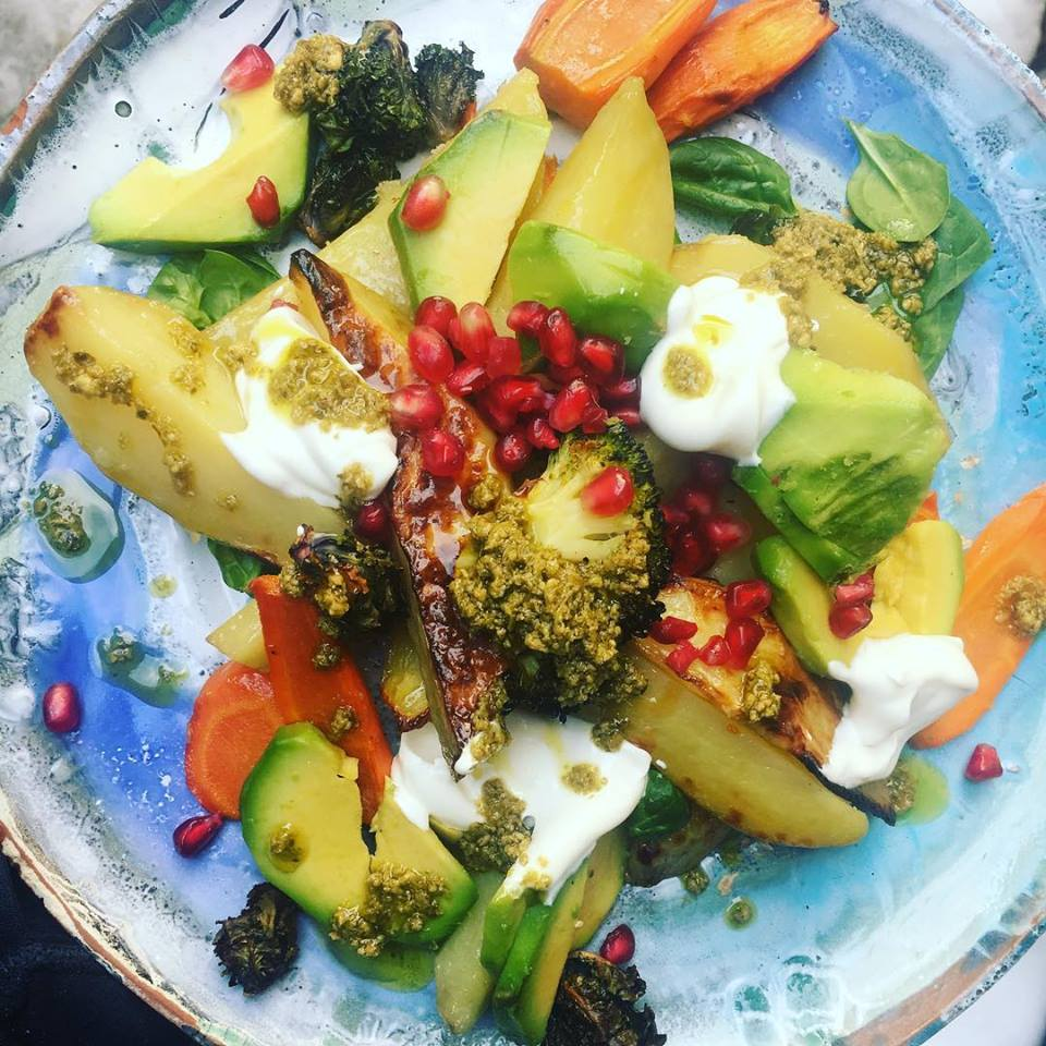 - Raw Vegan SaladPhoto Credit: Simone