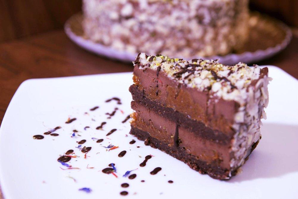 - Chocolate & KarawmelPhoto Credit: Delicious Raw