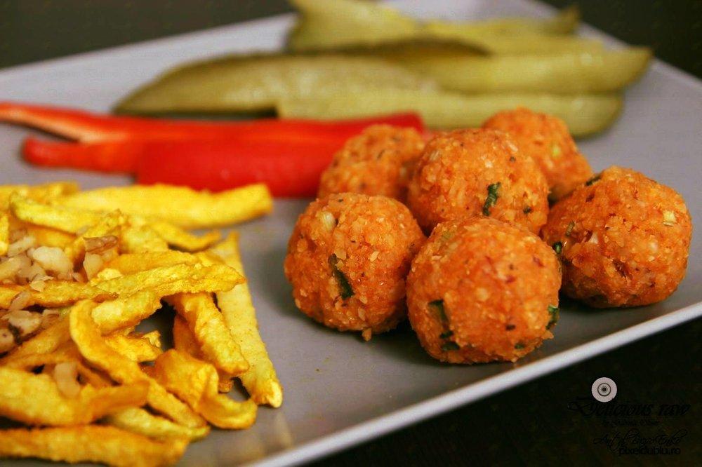 "-                                                            Vegan ""Meatballs""                                          Photo Credit: Delicious Raw"