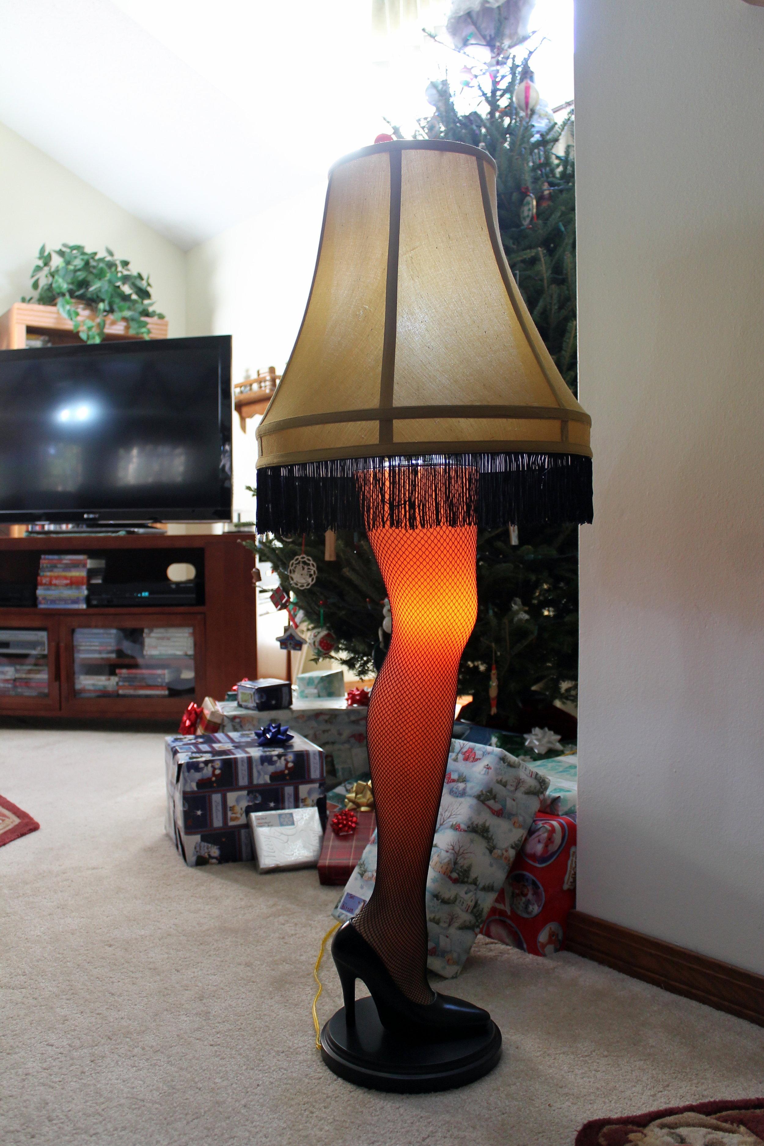 A Leg Lamp