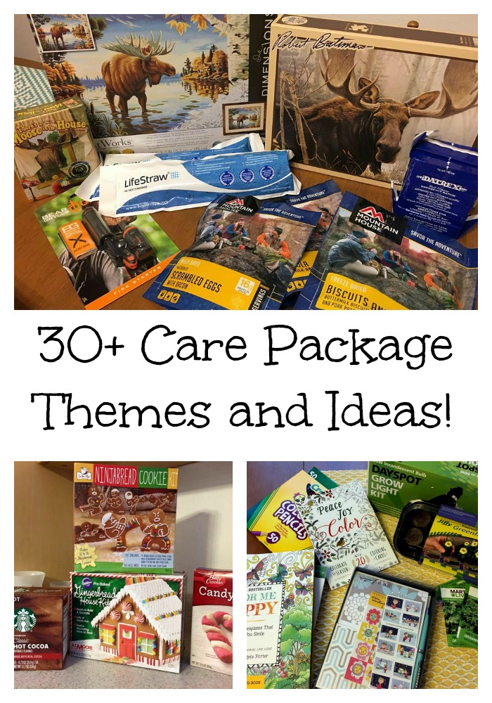 Care Package Themes and Ideas