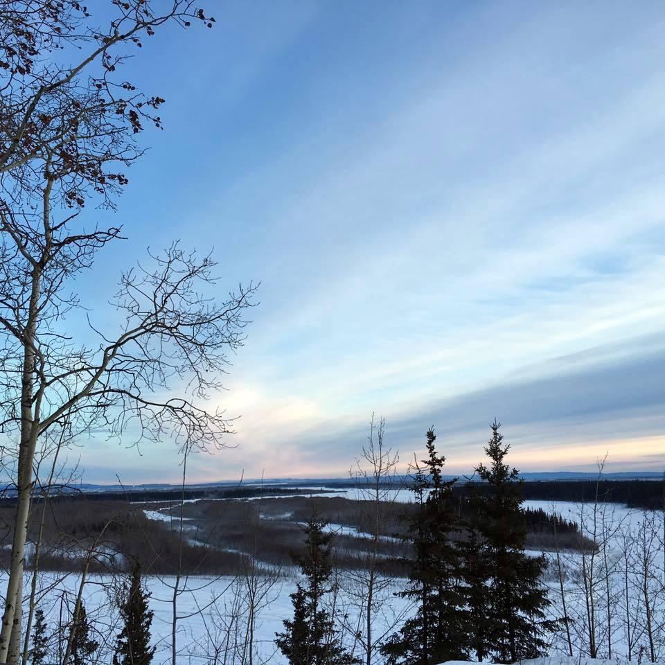 Sun over Fairbanks