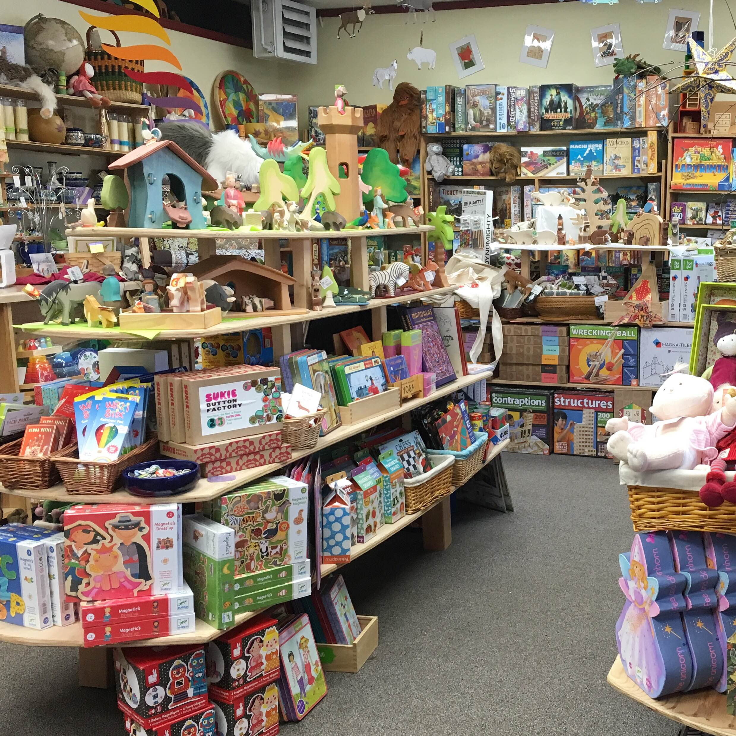 Enchanted Forest Toy Shop