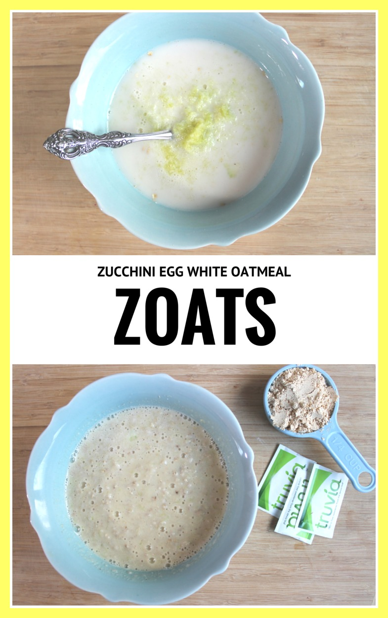 ZOATS Zucchini Oatmeal
