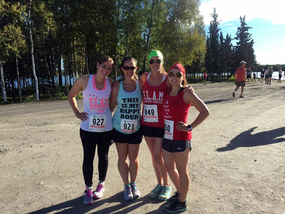 north pole half marathon