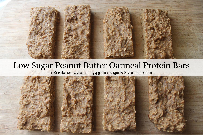 Oatmeal Protein Bars1