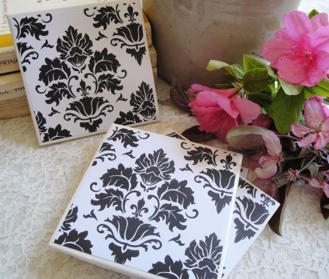 Easy DIY Tile Coasters