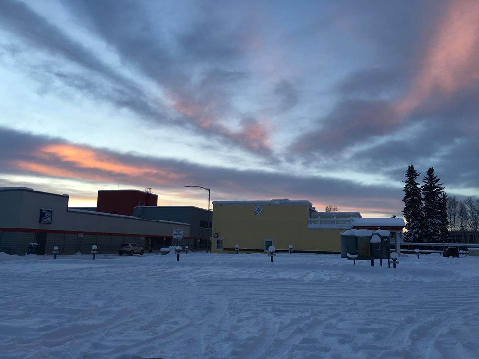 Fairbanks sky