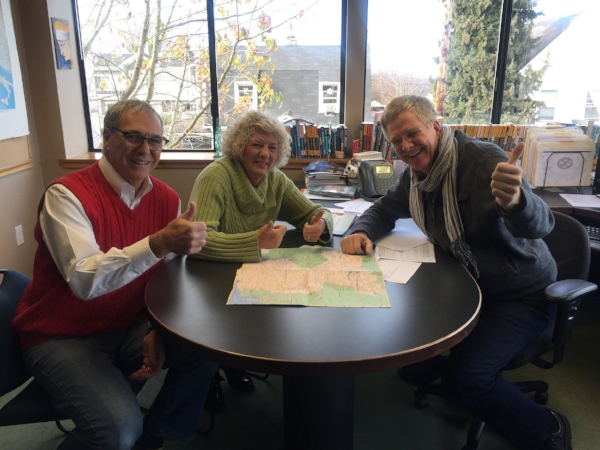 A fun afternoon on the radio with Rick Steves in Edmonds. The show should air sometime in February or March.