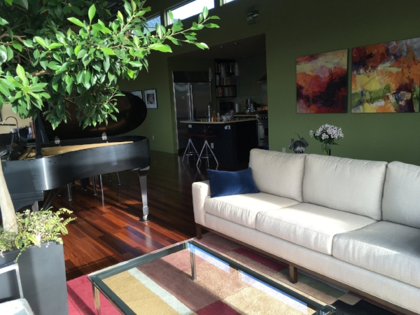 """A glimpse at our most recent """"home"""". We had a wonderful stay on Queen Anne!"""