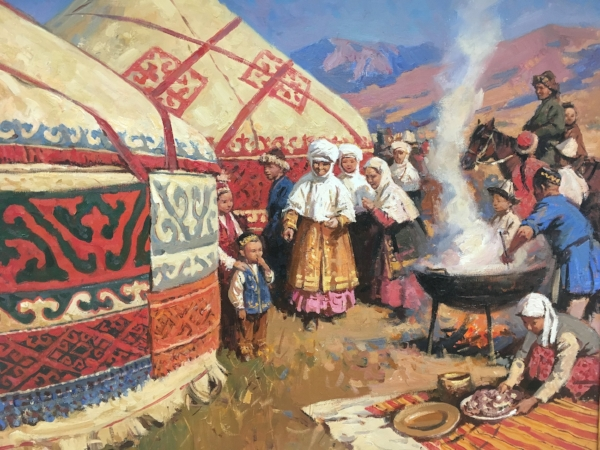 As Nomads ourselves, we appreciated the the Nomadic heritage of this region.