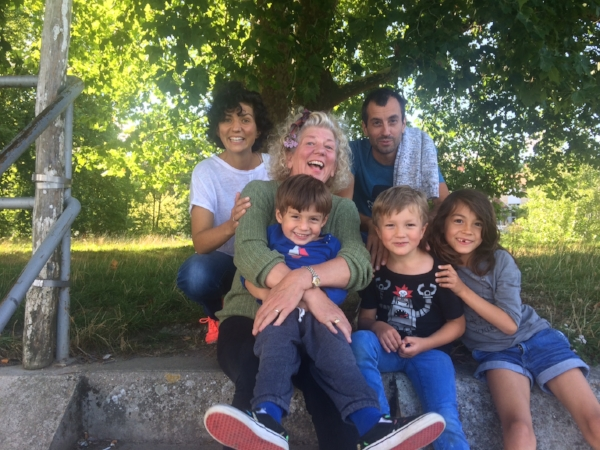 A sneak preview of our three weeks in Samois sur Seine with the grand kids!