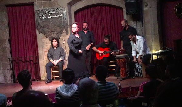 An intimate Flamenco concert and dance followed by Tapas and ice-cream was a dream date.