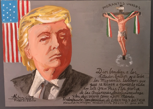Saw this painting on the wall in the museum. Not sure of the translation … but I'm all for liberty and justice.