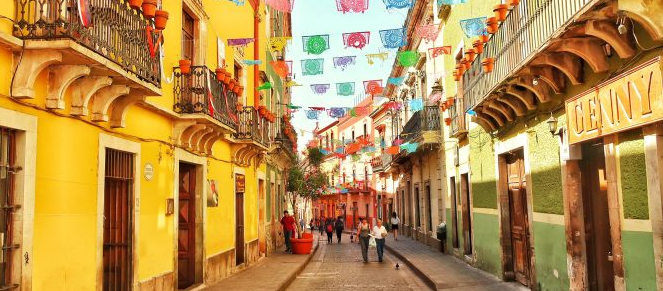 Greetings from Guanajuato