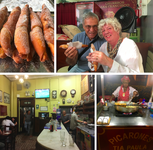 Our food and tavern tour took us all around the center of the city where we tasted just about every Peruvian food and drink you could wish for… even if you wished for intestines and beef heart