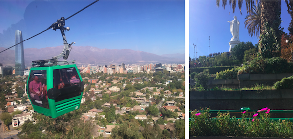 We could see this Gondolas from our house so we enjoyed taking the ride up San Cristobal ourselves.