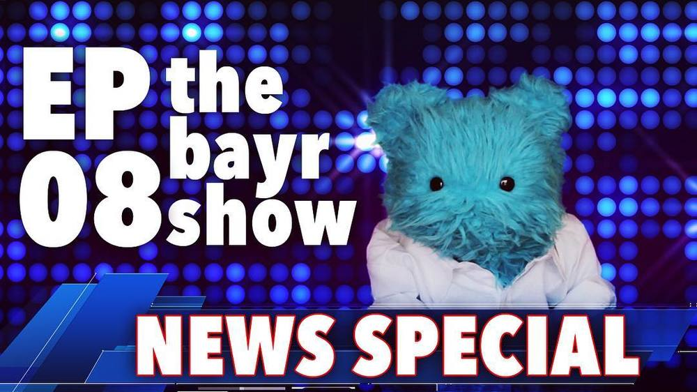 The political climate is muggy. Time for Bayr to weigh in. New video this week! #thebayrshow #puppet http://ift.tt/2a8Y1rK