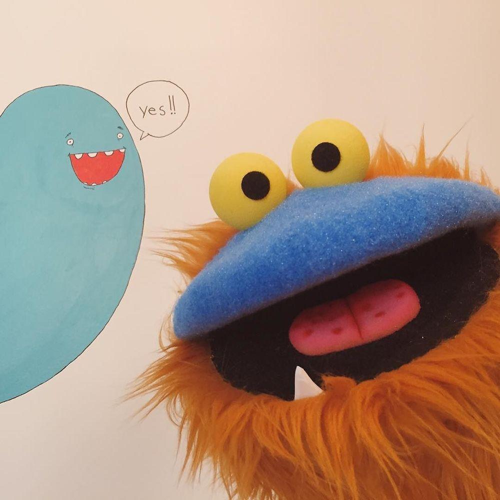 Ugh, I love this guy. #puppet http://ift.tt/29rsC0o