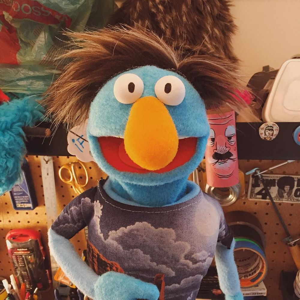 Herman is super stoked about going to Alaska. Follow him on snapchat!!! TheBizzaro or Bizzaro Studio. #puppet #bizzarostudio #puppets  http://ift.tt/1VQqtOJ