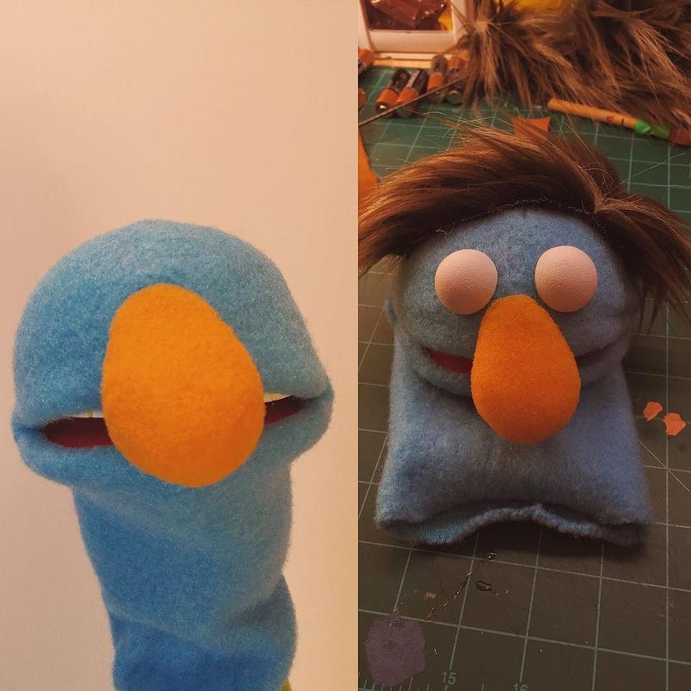 This little buddy is getting a remix. #puppet  http://ift.tt/1ZpKJ8P