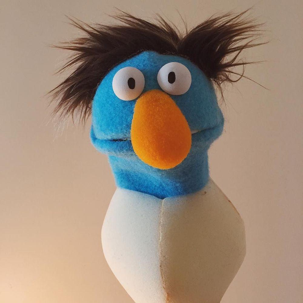 Omfg. Such a tiny squatty guy. #puppet  http://ift.tt/1UtFaSj