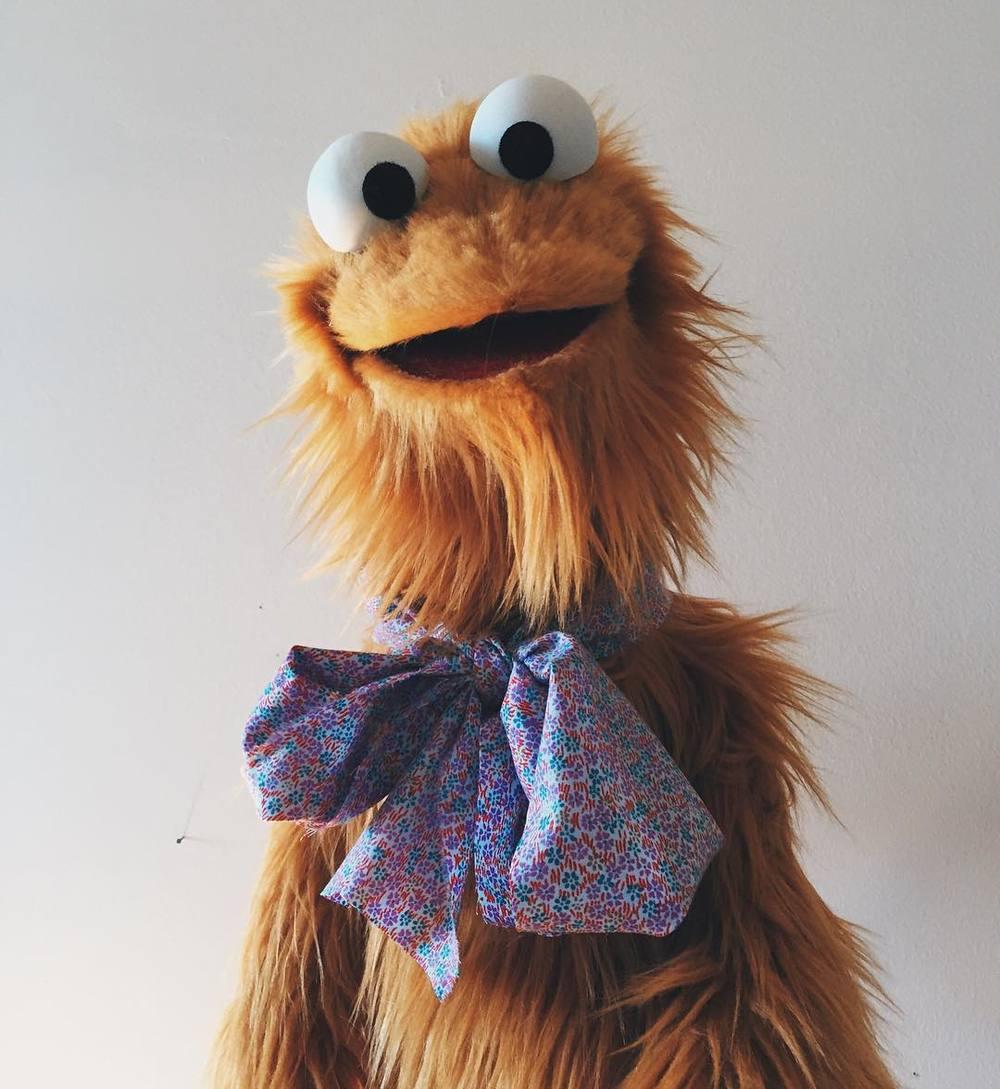 Duck face. #puppet  http://ift.tt/1oWXY44