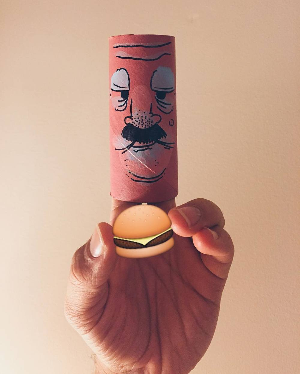 Trey Patterson doesn't have much. What he does have is burger Wednesday. #puppet  http://ift.tt/1iTKYZT