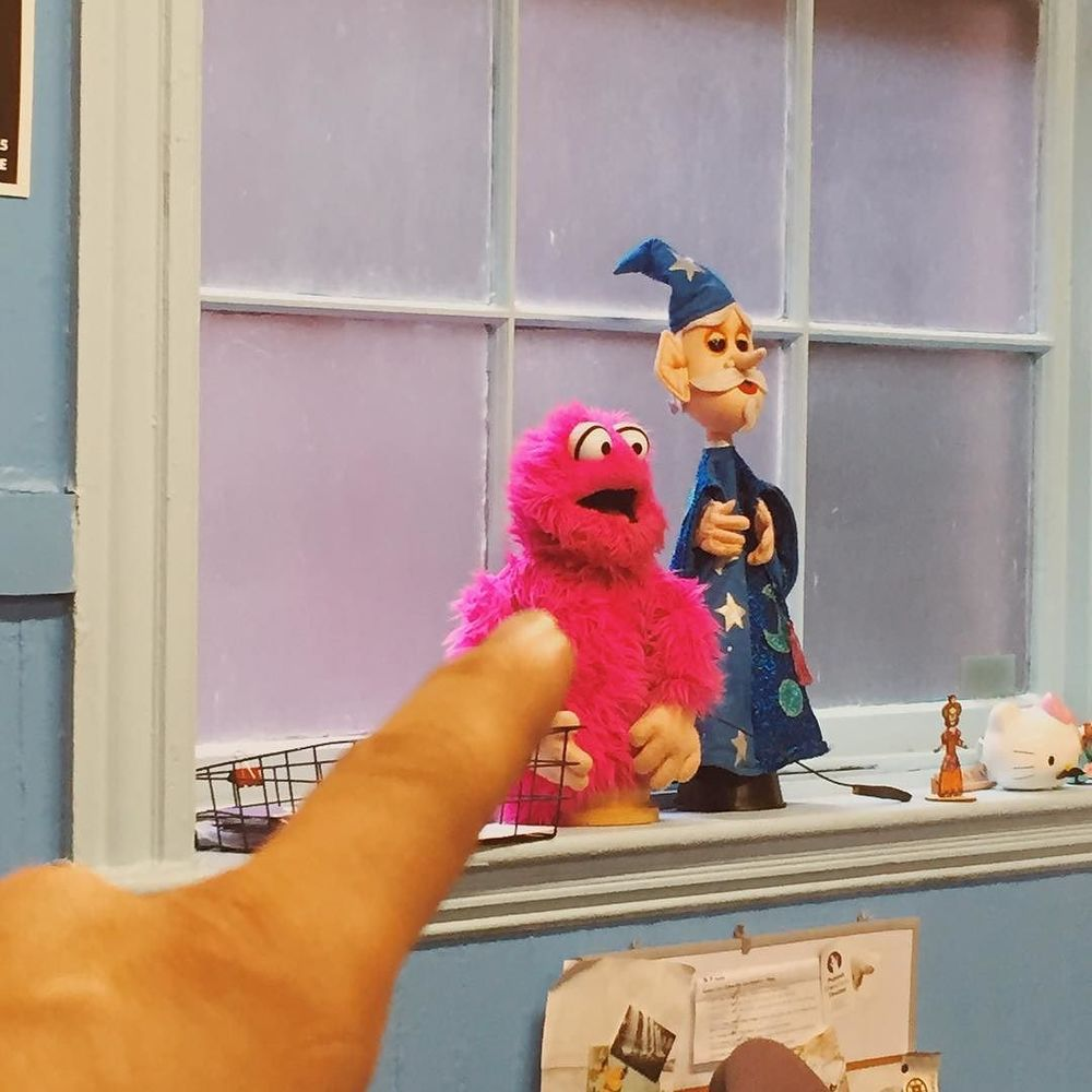 Look who I found @puppetshowplace #puppet  http://ift.tt/1J5Xif9