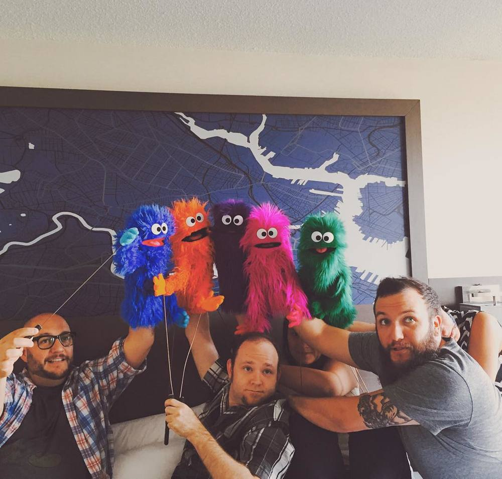 It takes a lot of work to look this good. #BCAF2015 #teamlopeznyc #puppet http://ift.tt/1ULdMVW