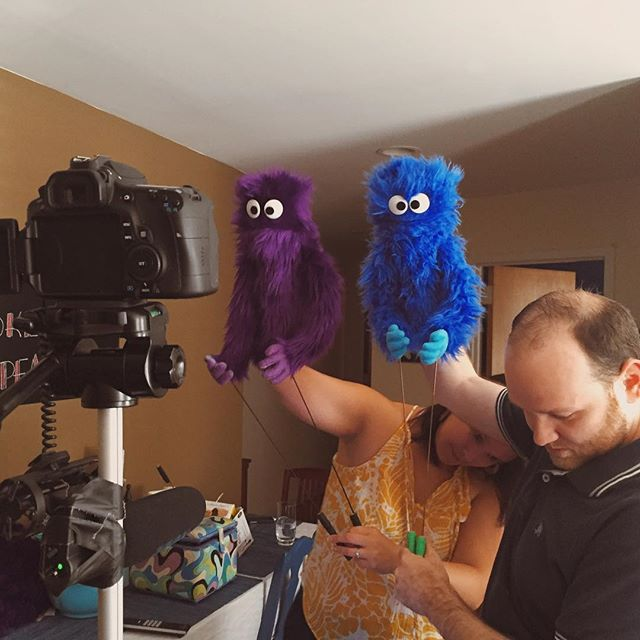 The making of promos for @teamlopeznyc. #puppet http://ift.tt/1XaQWG5