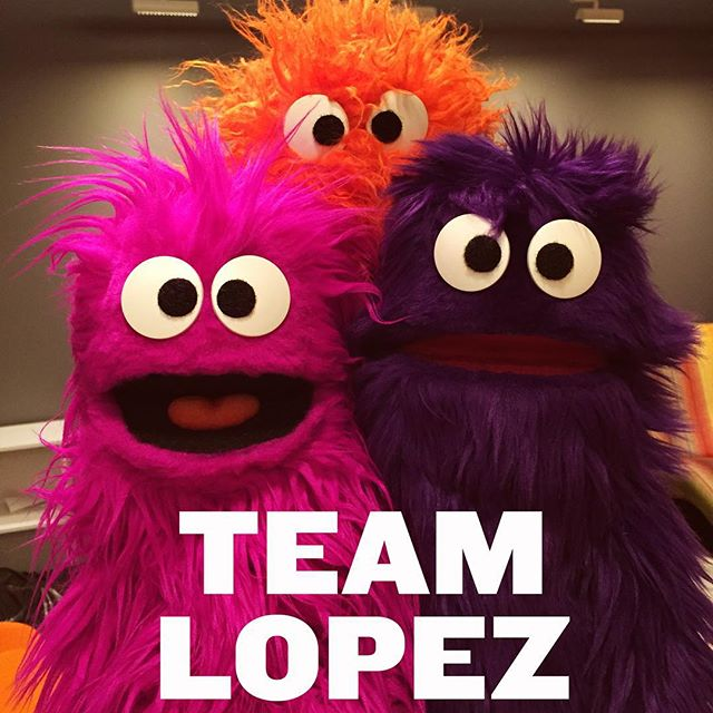 @teamlopeznyc has a new cast! They are super pumped to play the #BCAF2015! #puppet  http://ift.tt/1Q3udaa