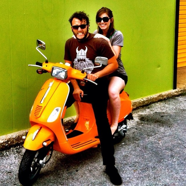 Hey @casscakey! Remember when we had a scooty puff?!