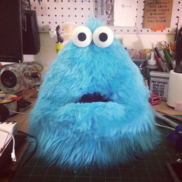 Looking good weird tiny monster.